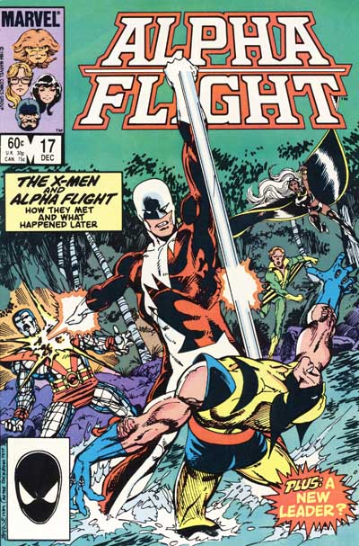Wolverine Covers: Alpha Flight #17