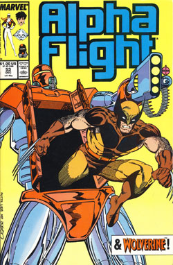 Wolverine Covers: Alpha Flight #53