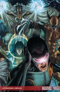 Astonishing X-Men #25 cover