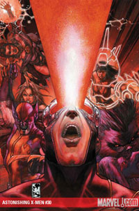 Astonishing X-Men #30 cover