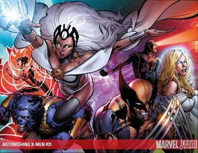 Astonishing X-Men #31 cover
