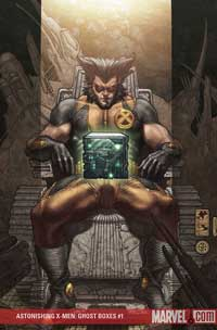 Astonishing X-Men: Ghost Boxes #1 cover