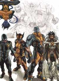 Astonishing X-Men Sketchbook cover