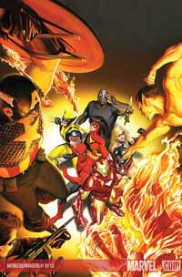 Avengers/Invaders #1 cover