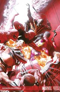 Avengers/Invaders #4 cover