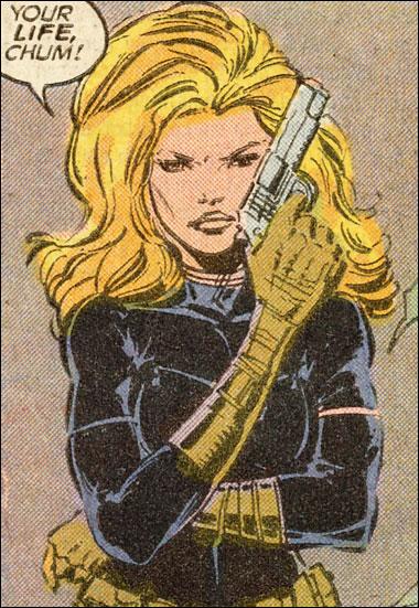 Carol Danvers as secret agent