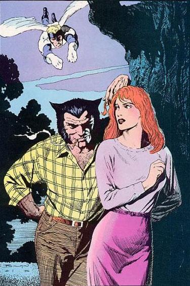 Classic X-Men #1 back cover