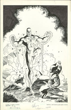 Classic X-Men #16 original cover