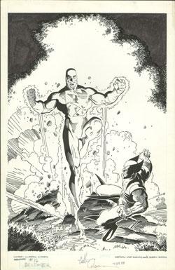 Classic X-Men #16 original cover