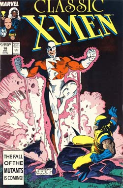 Classic X-Men #16 cover