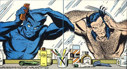 Classic X-Men #17 panel cover