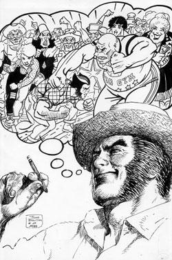 Classic X-Men back cover original