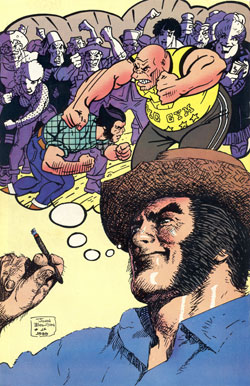 Classic X-Men #26 back cover