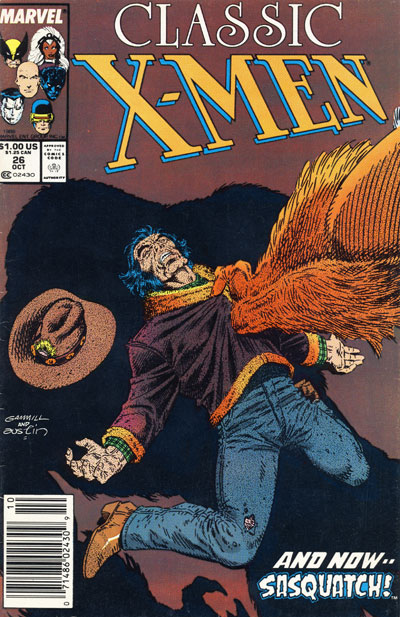Wolverine Covers: Classic X-Men #26