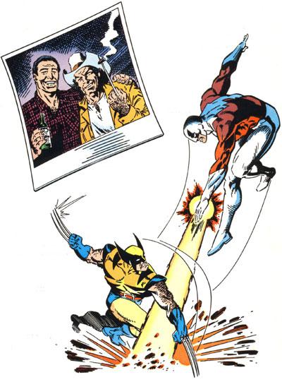 Classic X-Men #27 frontispiece