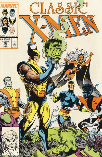 Wolverine Covers: Classic X-Men #30