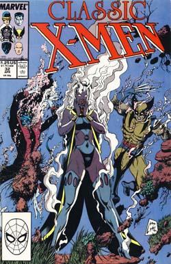 Classic X-Men #32 cover