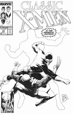 Classic X-Men #33 cover