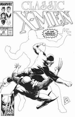 Classic X-Men #33 cover