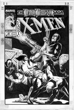 Classic X-Men #39 original cover