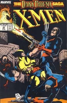 Classic X-Men #39 cover