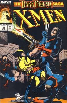 Classic X-Men #39 cover