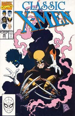 Classic X-Men #45 cover
