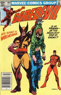 Daredevil #196 cover
