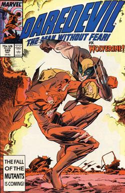Wolverine Covers: Daredevil #249