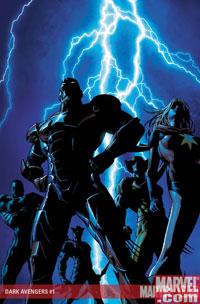 Dark Avengers #1 cover