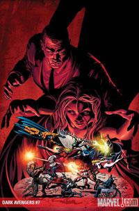 Dark Avengers #7 cover
