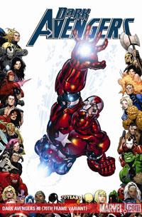 Dark Avengers #8 cover