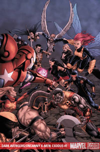 Dark Avengers/Uncanny X-Men: Utopia #1 cover