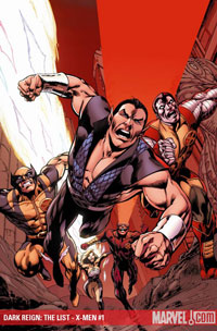 Dark Reign: The List - X-Men cover