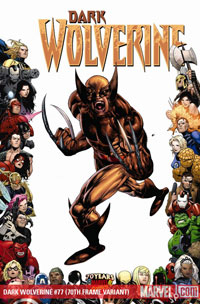 Dark Wolverine #77 cover