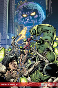 Fantastic Force #4 cover