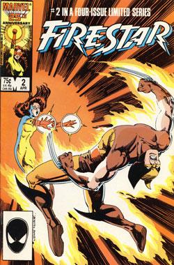 Firestar #2 cover