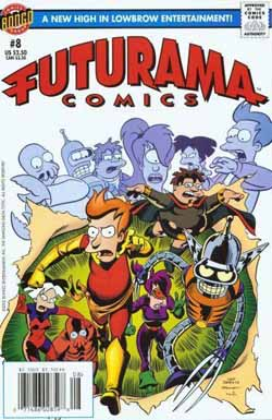 Futurama Comics #8 cover