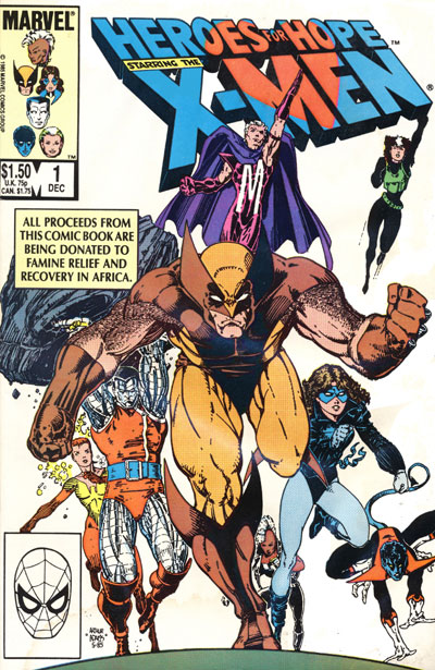 Wolverine Covers: Heroes for Hope starring the X-Men