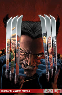 House of M: Masters of Evil #2 cover