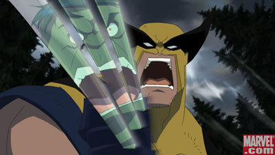 Wolverine Covers: Hulk vs. Wolverine DVD /