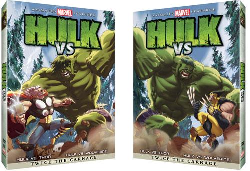 Hulk vs. Wolverine DVD
