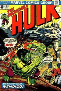 Incredible Hulk #180 cover