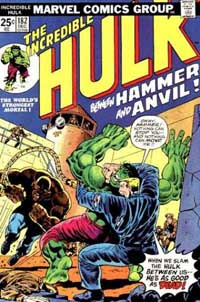 Incredible Hulk #182 cover