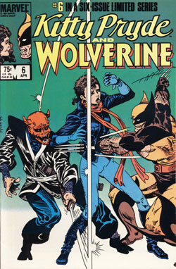 Kitty Pryde and Wolverine #6 cover
