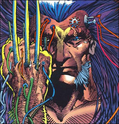 Logan gets adamantium claws