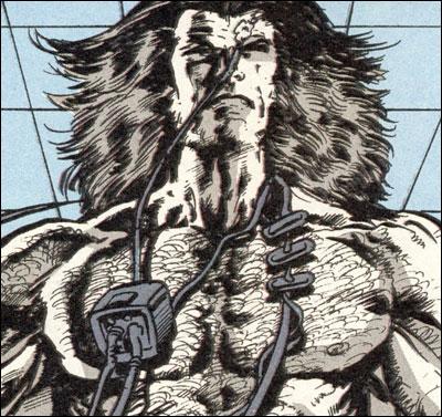 Logan brainwashed at Weapon X