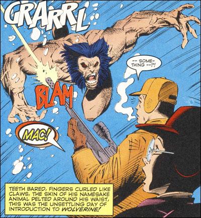 Logan attacks the Hudsons