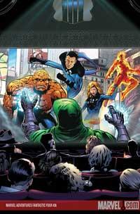 Marvel Adventures Fantastic Four #36 cover