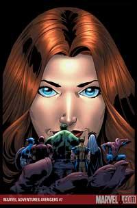 Marvel Adventures the Avengers #20 cover